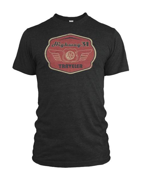 Traveler T-Shirt Slate Gray